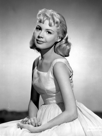 Sandra Dee in White Gown Portrait Photo by  Movie Star News
