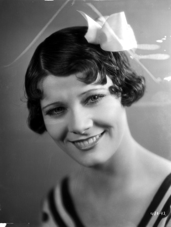 Penny Singleton smiling wearing Flower Hairpin Close Up Portrait Photo by  Movie Star News