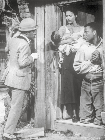 Porgy And Bess Man Talking to Couple with Baby Scene Excerpt from Film Photo by  Movie Star News