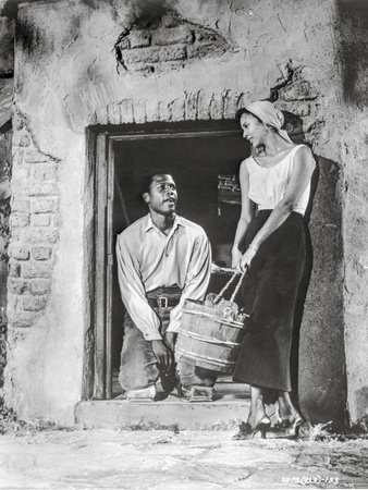 Porgy And Bess Portrait of Couple Talking Excerpt from Film Photo by  Movie Star News