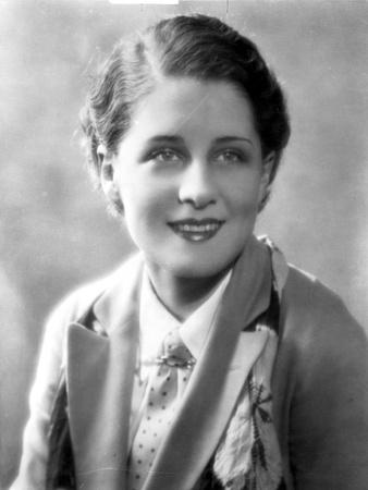 Norma Shearer Portrait in Classic Foto af  Movie Star News