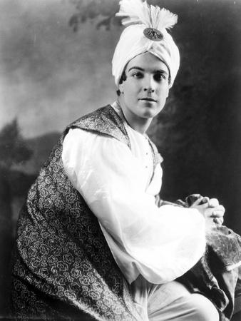 Ramon Novarro Posed in Egyptian Portrait Photo by  Movie Star News