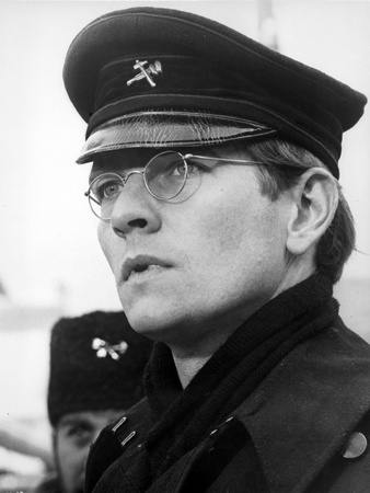 Tom Courtenay in Black with White Background Photo by  Movie Star News