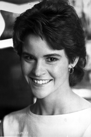 Ally Sheedy smiling and Looking at the Cameara in Portrait Photo by  Movie Star News