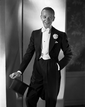 Fred Astaire in Top Hat, White Tie and Tails Photo by E Bachrach