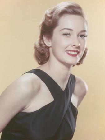Vera Miles Posed in Black Dress Portrait Photo by  Movie Star News
