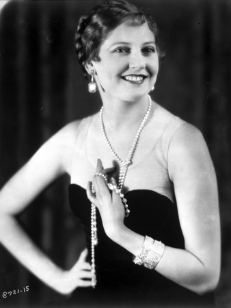 Thelma Todd Posed in Tube Dress Photo by  Movie Star News