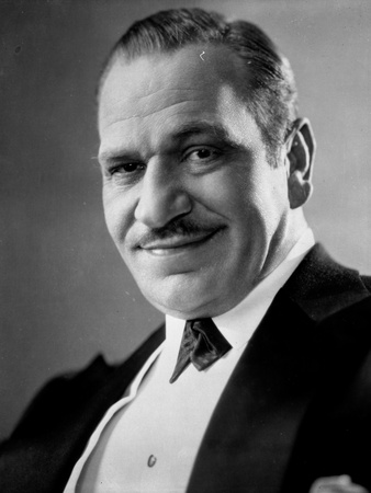 Wallace Beery in Black Suit Photo by  Movie Star News