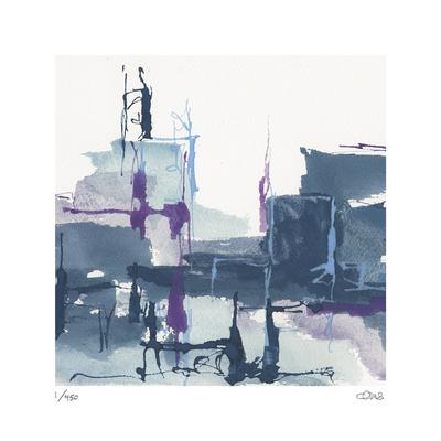 City Indigo II Limited Edition by Chris Paschke