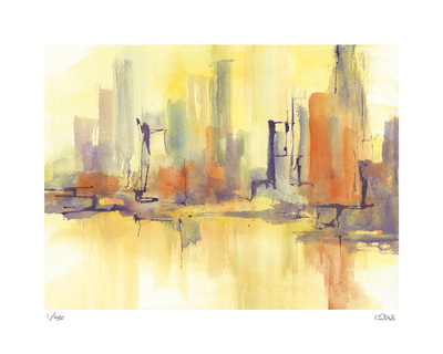 City Glow II Limited Edition by Chris Paschke