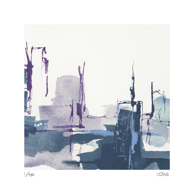 City Indigo III Limited Edition by Chris Paschke