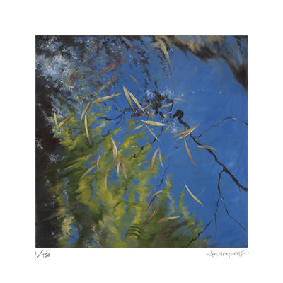 Floating Bamboo Limited Edition by Jan Wagstaff