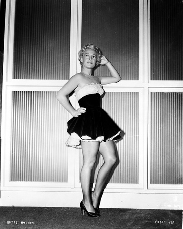 Betty Hutton on a Tube Dress posed Photo by  Movie Star News