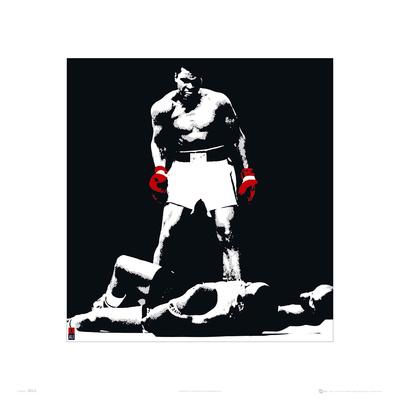 Muhammad Ali Liston Black Prints