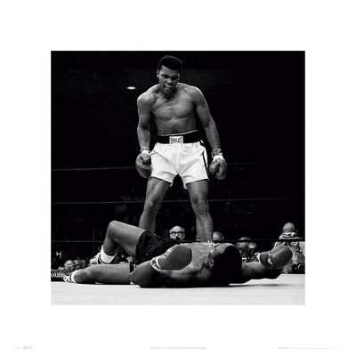 Muhammad Ali V's Liston Prints