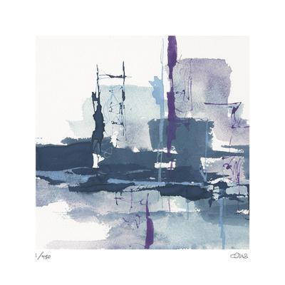 City Indigo I Limited Edition by Chris Paschke