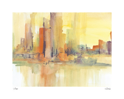 City Glow I Limited Edition by Chris Paschke