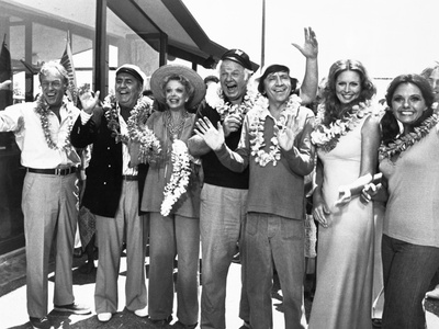 Ensemble Still from Gilligan's Island Leaving for Voyage Photo by  Movie Star News