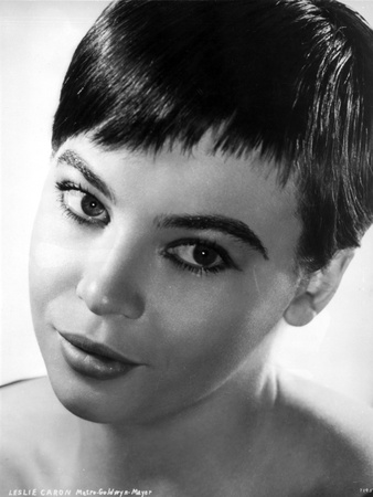 Leslie Caron Portrait in Classic with White Background Photo by  Movie Star News