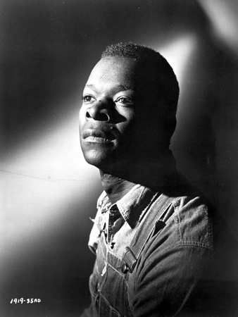Brock Peters in Black With Black and White Background Photo by  Movie Star News