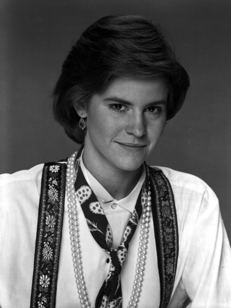 Ally Sheedy Looking at the Camera Showing a Small Smile in Portrait Photo by  Movie Star News