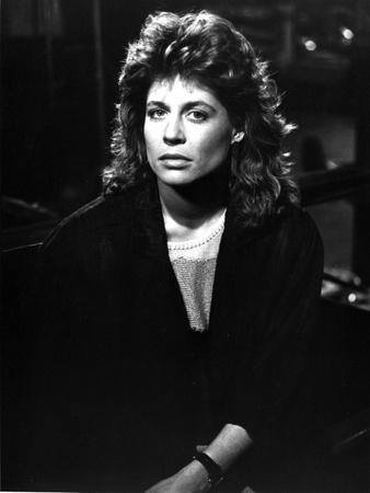 Linda Hamilton Portrait in Classic wearing Black Coat Photo by  Movie Star News