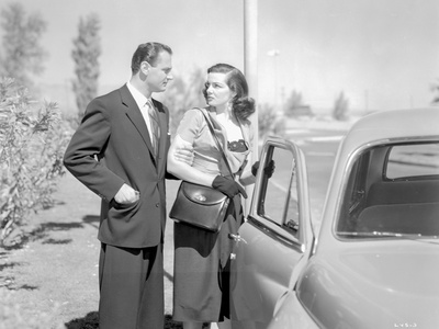 Las Vegas Story Classic Couple Portrait with A Car Photo by  Movie Star News
