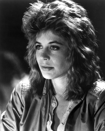 Linda Hamilton Portrait in Classic wearing Leather Jacket Photo by  Movie Star News