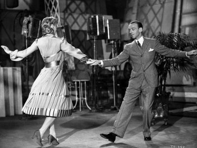 Fred Astaire and Ginger Rogers Dancing Hand in Hand Photo by  Movie Star News