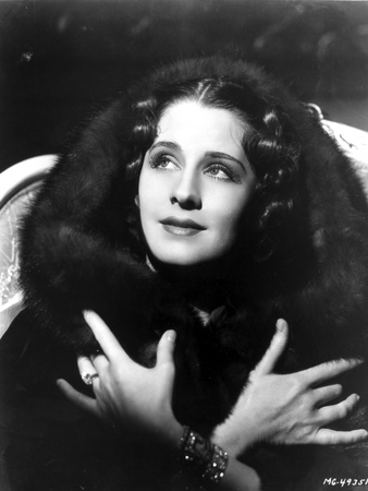 Norma Shearer Portrait in Classic with Bracelet Foto af  Movie Star News