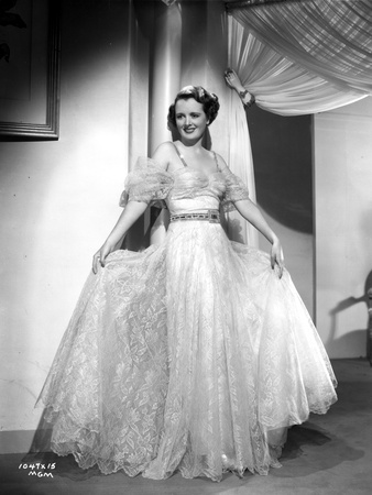 Mary Astor on a Lace Gown Swaying Skirt Portrait Photo by  Movie Star News