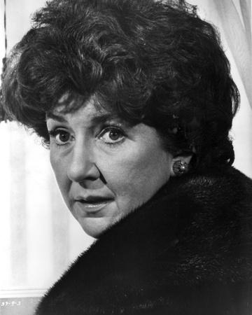 Maureen Stapleton Portrait wearing Furry Jacket Photo by  Movie Star News