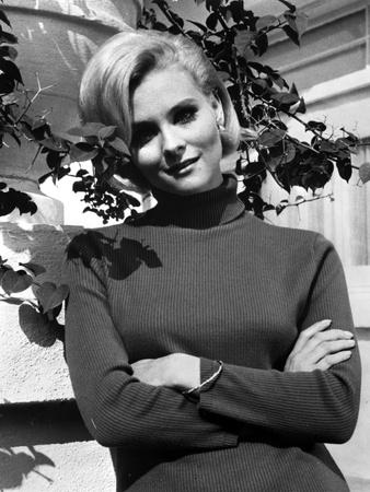 Diane McBain Classic Portrait wearing Sweater Photo by  Movie Star News