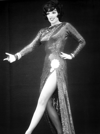 Liza Minnelli Posed in Gown with Black Background Photo by  Movie Star News