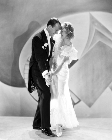 Fred Astaire and Ginger Rogers Dancing on Stage Photo by  Movie Star News
