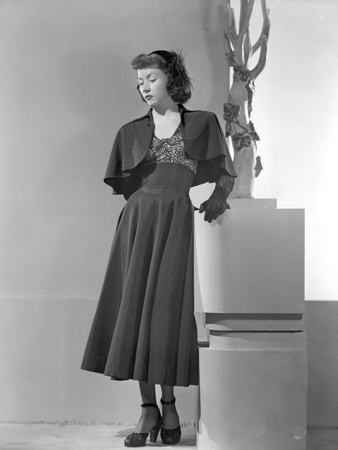 Gloria Grahame in Black Dress with Black Heels Photo by  Movie Star News