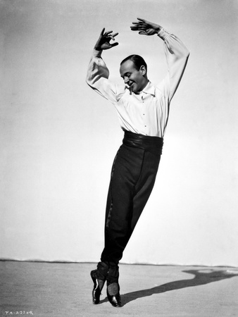 Fred Astaire Ballet Dancing in Black and White Photo by J Miehle