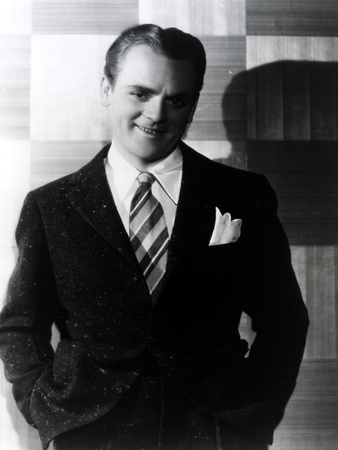 James Cagney standing in Tuxedo Classic Portrait Photo by  Movie Star News