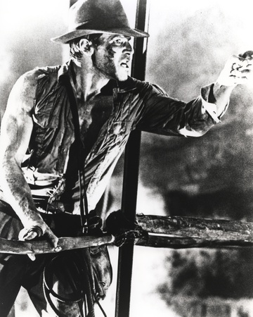 Harrison Ford in a Cowboy's Outfit in Movie Scene Photo by  Movie Star News