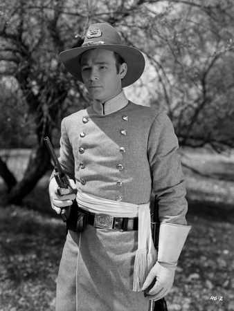 Roy Rogers posed with Gun in Black and White Photo by  Movie Star News