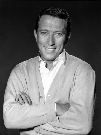 Andy Williams in Suit With Black Background Photo by  Movie Star News