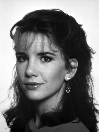 Melissa Gilbert Portrait in Black and White Photo by  Movie Star News