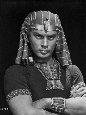 Ten Commandments Pharaoh in Black Background Photo by  Movie Star News
