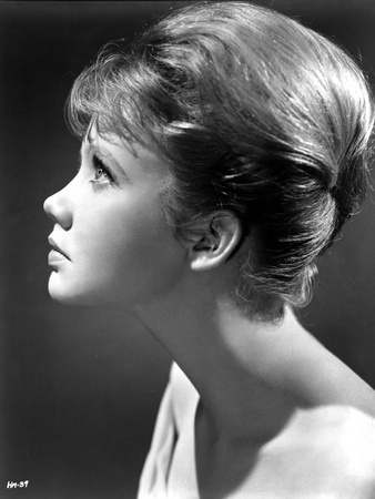 Hayley Mills Looking Up Sideview in Topless Photo by  Movie Star News