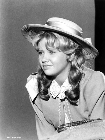 Hayley Mills wearing a Hat with Curly Hair Photo by  Movie Star News