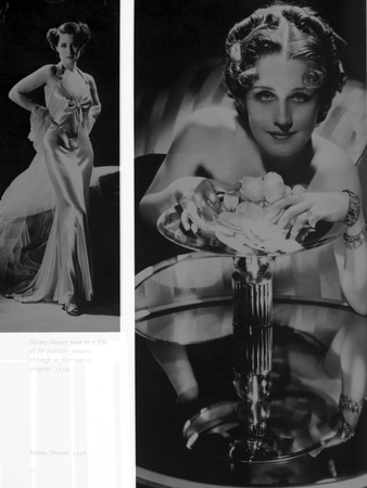Norma Shearer Two Picture Collage in Classic Foto af  Movie Star News