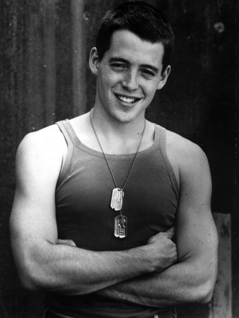 Matthew Broderick in Tank top With Necklace Photo by  Movie Star News