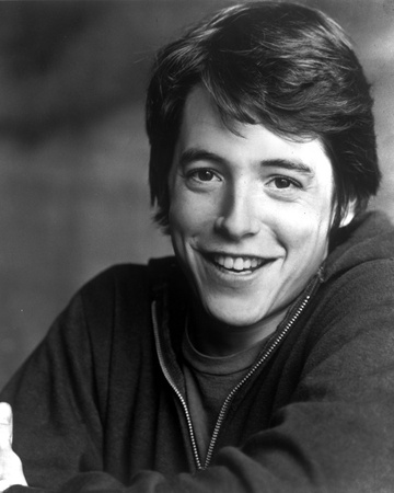 Matthew Broderick in Black Sweater Portrait Photo by  Movie Star News