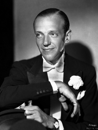 Fred Astaire Slightly smiling in Portrait Photo by E Bachrach
