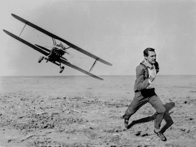 North By Northwest Running Scene in Classic Photo by  Movie Star News
